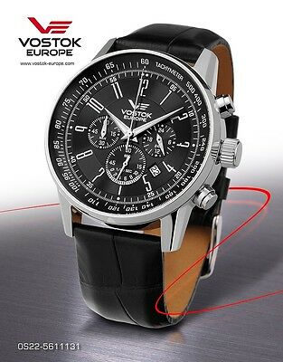 Watches Vostok Europe GAZ 14 Chrono Quarz OS22-5611131 NEW