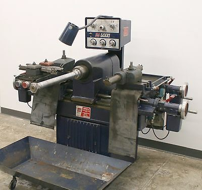 Ammco Super 6 Heavy Duty Truck Disc & Drum Brake Lathe with Adapters 6000 5000 1