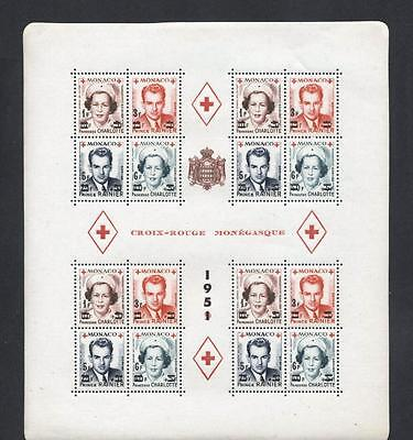 (932919) Red Cross, Royalty, Monaco - fine quality MNH -