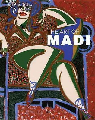 The Art of Madi by Hussein Madi Hardcover Book (English)