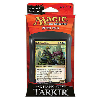 Magic the Gathering Intro Pack - Khans of Tarkir - SULTAI SCHEMERS - New Sealed