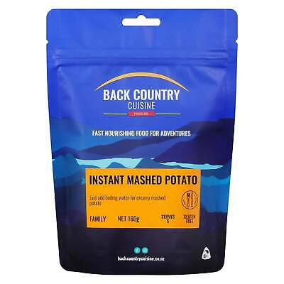 Back Country Cuisine Freeze Dried Food  Instant Mashed Potato
