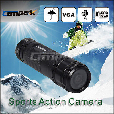 Campark HD 720P Helmet Head Sport Action DV Camera Audio Recording Waterproof