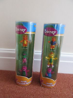 Barney Collectable Figures in Tube
