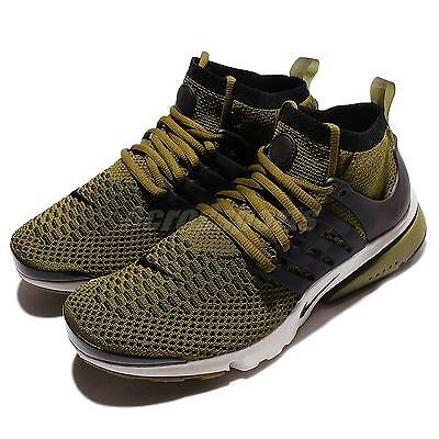 Nike Air Presto Flyknit Ultra Olive Flak Undefeated Green Men Shoes 835570-300