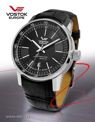 Vostok Europe GAZ 14 Automatic with trigalights nh35a-5651137 NEW