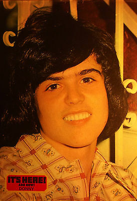 1 english clipping DONNY OSMOND N. SHIRTLESS TEEN OSMONDS 70`s SINGER BOYS BOY