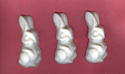 Large bunny plaster of Paris painting project. Set of 6!