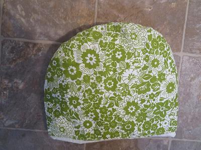 Nwot Tea Cosy Cozy Teapot Cover Floral Green And White, Lined & Padded, Medium