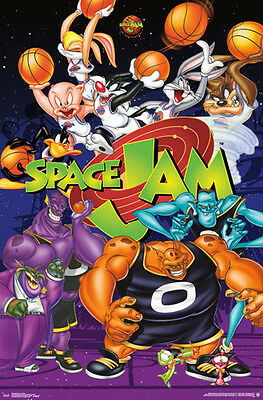 SPACE JAM Toon Squad vs. Monstars 20th Anniversary Commemorative Wall POSTER