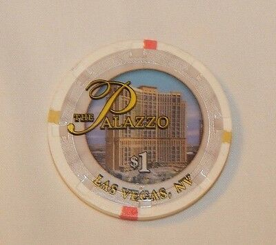 Vintage The Palazzo Casino & Hotel Las Vegas NV $1.00 poker chip