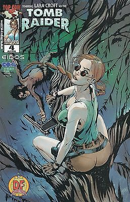 Tomb Raider #4 (2000) Dynamic Forces Top Cow Comics  V/f+
