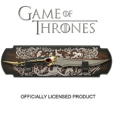 Game of Thrones Official Prop Replica CATSPAW DAGGER, Valyrian Steel, Tyrion