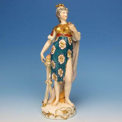 Royal Crown Derby Porcelain - Early Goddess Figure - Signed - 9½ inches