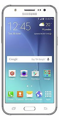 Sim Free Samsung Galaxy J5 5 Inch 13MP 8GB 4G Android Mobile Phone - White:Argos