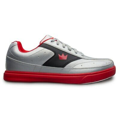 Brunswick Frenzy Black/Red Mens Bowling Shoes WIDE WIDTH