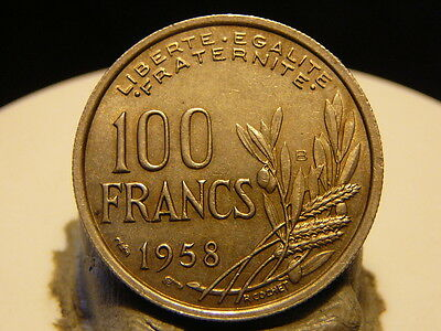 Ha(1438) - 100 Francs - Cochet - 1958 B - Qualite Sup+ ! Port Gratuit !