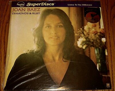 Joan Baez Diamonds & Rust Nautilus Super Disc Still Factory Sealed1980