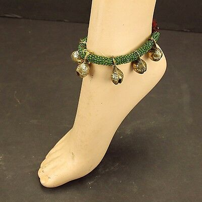 Single BELLED ANKLET Tribe BellyDance ATS Costume Kuchi Tribal 791a3