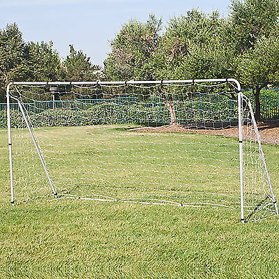 12' x 6' Soccer Goal With Net, Straps, Anchor Large Soccer Goal Sports