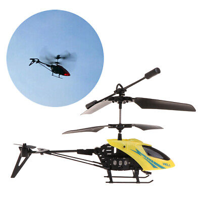 2CH Mini RC Helicopter Remote Control Radio Aircraft Electric Micro 2 Channel