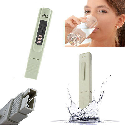 Portable TDS Meter Digital LCD Tester Water Quality Test Pen Hardness Analyzer