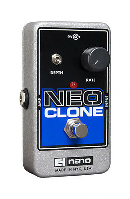 Electro Harmonix Neo Clone Analogue Chorus Effect Pedal (NEW)