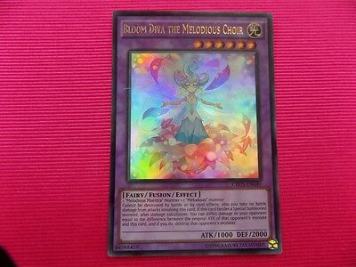 Starfoil Rare x3 Bloom Diva the Melodious Choir 1st Edition Yu SP17-EN036