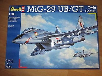 MiG-29 UB/GT Twin Seater Zweisitzer, Revell 04751 Bausatz Kit in 1:32 sealed!