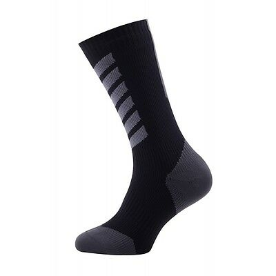 SealSkinz MTB Mid Mid Hydrostop Waterproof Socks