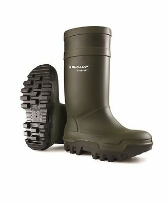 Dunlop Purofort Thermo Plus Full Safety Unisex Wellington Welly Wellies TRL-1191