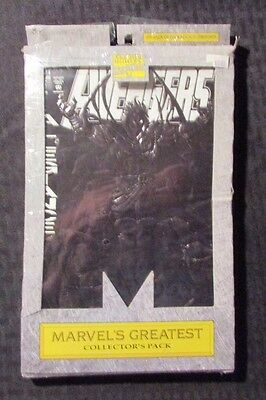 1993 Marvel Greatest Collector's Pack AVENGERS 5-Pack SEALED #368 369 26 307 101