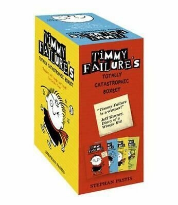 NEW Timmy Failure Totally Catastrophic Boxset By Stephan Pastis Paperback