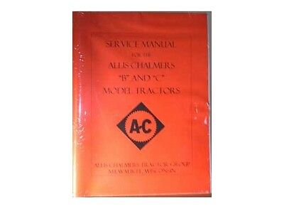 ALLIS CHALMERS B  & C Tractor Service Repair Manual AC