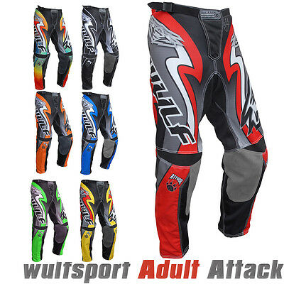 Wulfsport 2017 Attack Adult Motocross Pants Motorbike Motorcycle Trousers