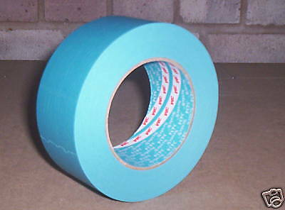 TOP QUALITY 3M BLUE MASKING TAPE 3434 RANGE 50mm x 50 m
