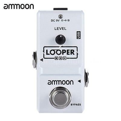 High Quality ammoon AP-09 Nano Loop Electric Guitar Effect Pedal Looper New Gift
