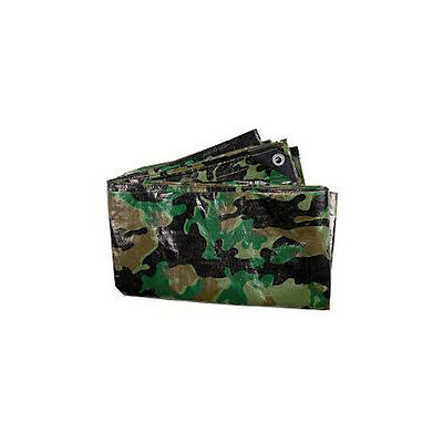 Outdoor Camping Survival Camo Camouflage DPM Ground Sheet Tarpaulin 3m x 1.8m K