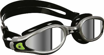 Aqua Sphere Mirrored - Silver Kaiman Exo Mens Swimming Goggle Brand New