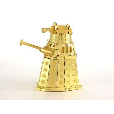 MetalEarth Doctor Who Gold Dalek Puzzle