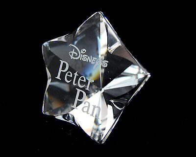 Swarovski Peter Pan Title Plaque 1036622 Bargain Retired Crystal Collectible