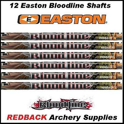 12 Easton Bloodline 480 spine Arrow Shafts archery & bow hunting