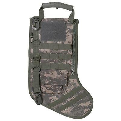 RuckUp Tactical Christmas Stocking w/ MOLLE Attachment ACU Digital Camo RUXMTSAD