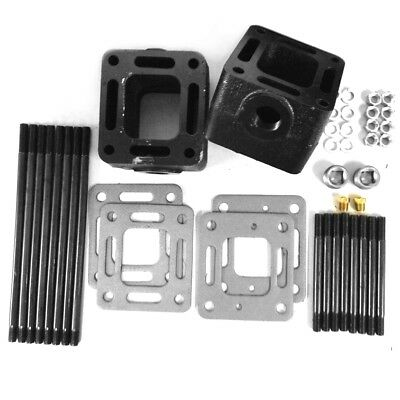 "3"" Spacer Extension Kit for Mercruiser Manifold Riser Elbow Repl 93320A13"