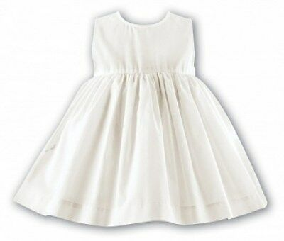 New Sarah Louise Infant Baby Girls White Petticoat Dress Sizes 6M 12M  2T 3T