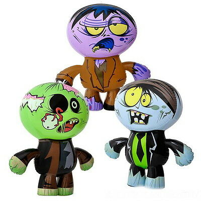 """WHOLESALE LOT OF 12 BIG 24/"""" ZOMBIE INFLATES INFLATABLES LIVING WALKING DEAD"""