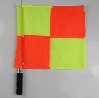 Deluxe Premier Linesman New Football Rugby Hockey Training Referee Flag HUUS