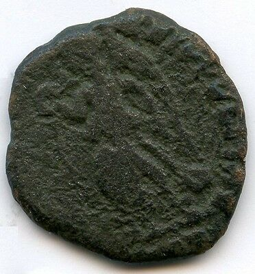 Hadrian and Diana Sestertius Ancient Rome Coin - Roman - Bronze - KY436