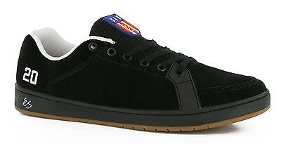 *SALE* Es Sal 20 Black Men's Skate Skateboard Shoes RETRO Old School 1990's