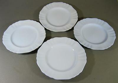 Shabby vintage blue J&G Meakin CELESTE luncheon plate x 4 English china